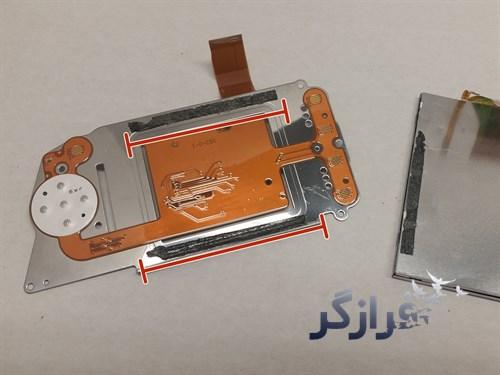 تعویض ال سی دی Nikon D3000