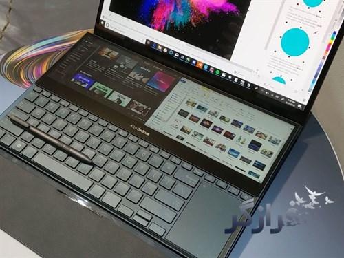 اولین لپ تاپ ایسوس با دو صفحه نمایش