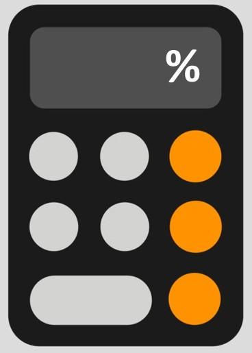 تغییر درصد